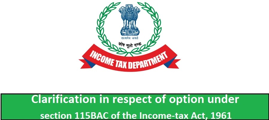 How to Save Income Tax for the F.Y.2020-21 If you choose the Old Tax Regime U/s 115 BAC for F.Y.2020